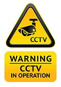 Notice Video Surveillance symbol