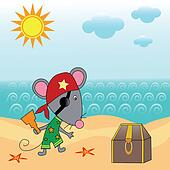 mouse pirate