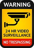 Video surveillance symbol