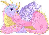 Beautiful lady Dragon