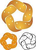 Five Twist Pretzel