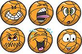 Basketball emotion Sports Icons