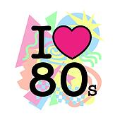 I love 80's old style