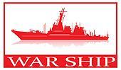 War ship.