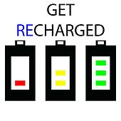get recharged