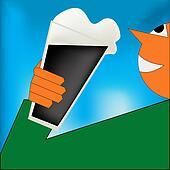 Cheers, Irish Stout Poster