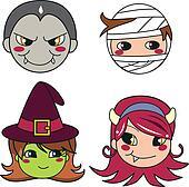 Halloween Monster Masks