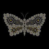 Luxury jewelry butterfly ornament