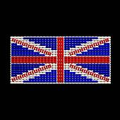 British Flag jewelry ornament