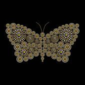 Jewelry butterfly ornament conceptual design