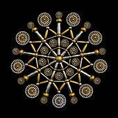 Luxury jewelry ornament