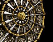 Luxury jewelry ornament background design