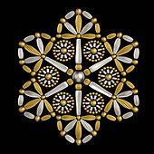 Luxury jewelry decoration design