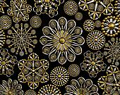 Luxury jewelry decoration background pattern