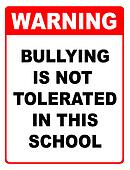 Bullyinig is not toleratetd