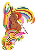 violin color curves
