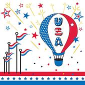 USA, Hot Air Balloon