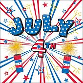 July 4 Stars, Stripes, Firecrackers