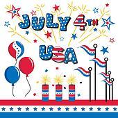 July 4 USA