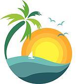 Palm Tree Clip Art Royalty Free Gograph