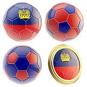 Liechtenstein football team attributes isolated