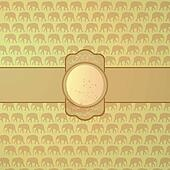 ornamental elephant background