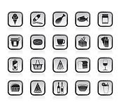 Shop and Foods Icons