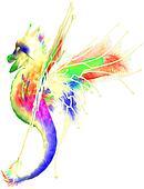 Cute Colorful Dragon