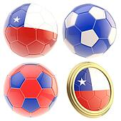 Chile football team attributes isolated
