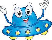 Spaceship Mascot
