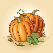 Retro pumpkins