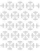 Fleur De Lis Design - Opaque