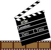 ClapBoard and Film