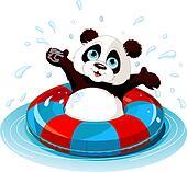 Summer fun Panda