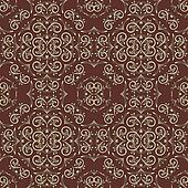 vector vintage seamless floral pattern