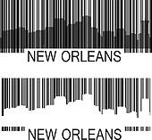 New Orleans barcode