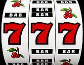 Jackpot on a slot machine
