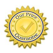 Our Price Guarantee Seal