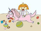Girl and the Unicorn