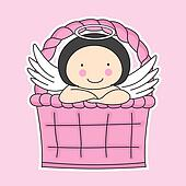 Fairy in a basket