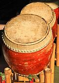 old chinese drum