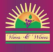 Vines and wines sun logo