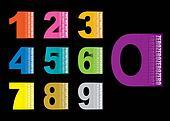 Copy space numbers