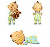 Cartoon Baby Pack - 1of2