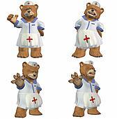 Nurse Bear Pack - 1of2