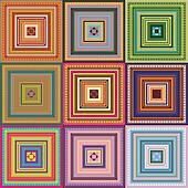 Carpet - pattern colored