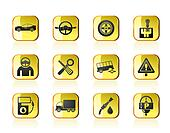 car services icons