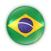 badge - Brazilian flag