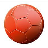 shiny football (soccer ball)