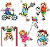 Leisure Activities Clip Art - Royalty Free - GoGraph